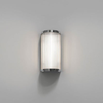 Versailles Small LED Polished Chrome Wall Light