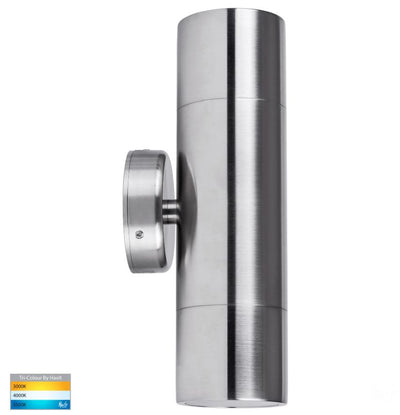 Tivah 316 Stainless Steel TRI Colour Up & Down Wall Light