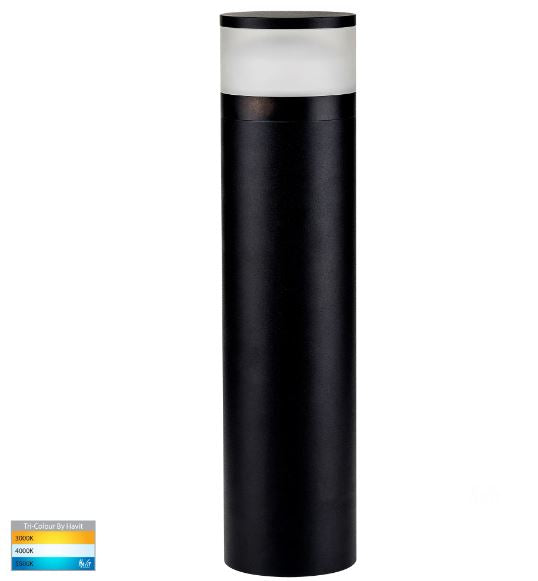 Highlite Black 600mm LED Bollard Light