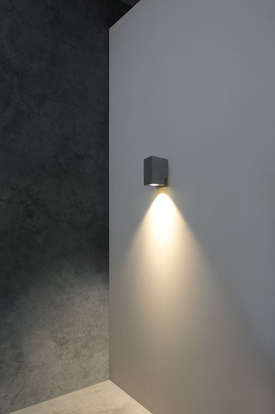 Zeron Black Exterior Fixed One Wall Light