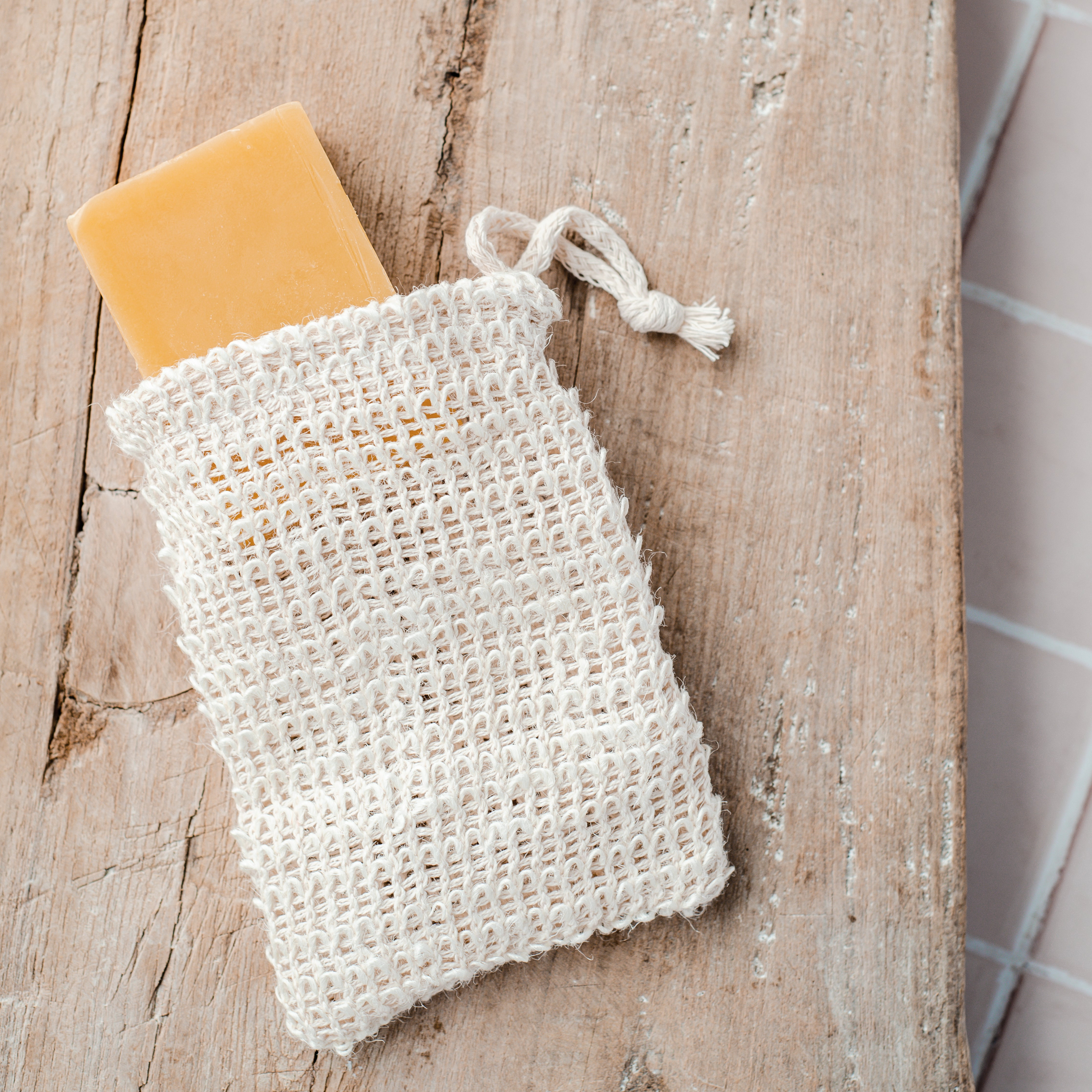 Natural Soap Pouch