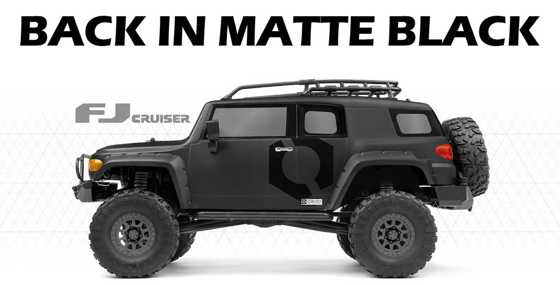 Best 1/10 scale, Venture Toyota FJ Cruiser 4WD RTR with controller