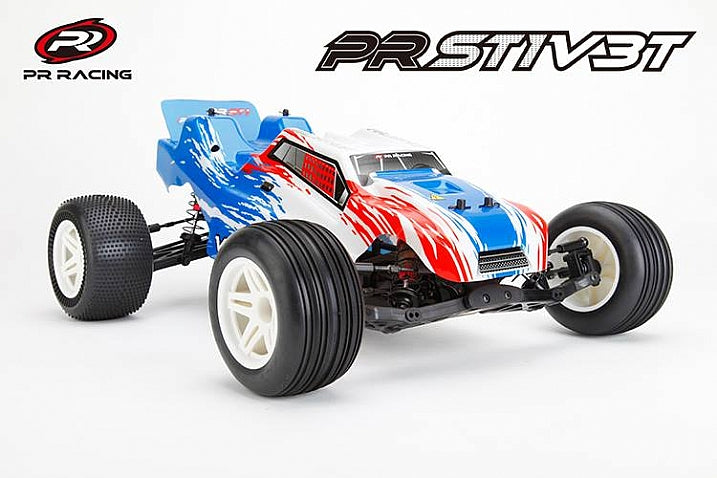 Best Price... PR Racing PRST1 V3T Competition 2wd Stadium Truck kit $199.99 US Dollars