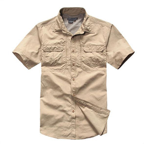 Tactical Grizzly Tan Garland Field Shirt