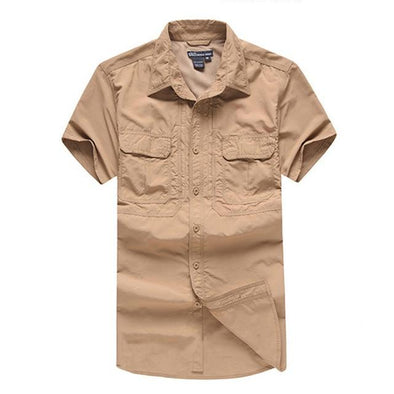 Tactical Grizzly Khaki Garland Field Shirt