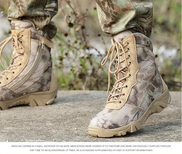 Tactical Grizzly Jungle Boots (2 Colors)