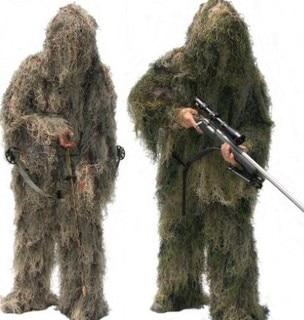 Tactical Grizzly Mesh Ghillie