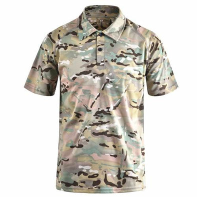 Tactical Grizzly Woodland Polo