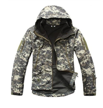 Tactical Grizzly Woodland Jacket (8 Designs)