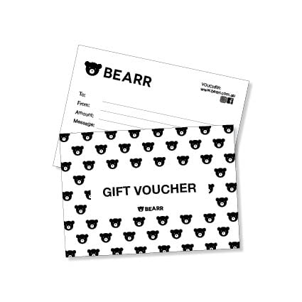 Gift Voucher - Bearr