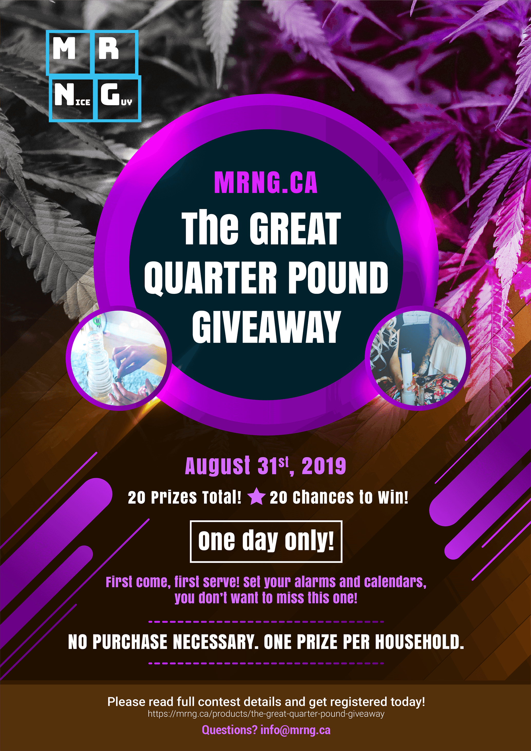 The GREAT QUARTER POUND GIVEAWAY