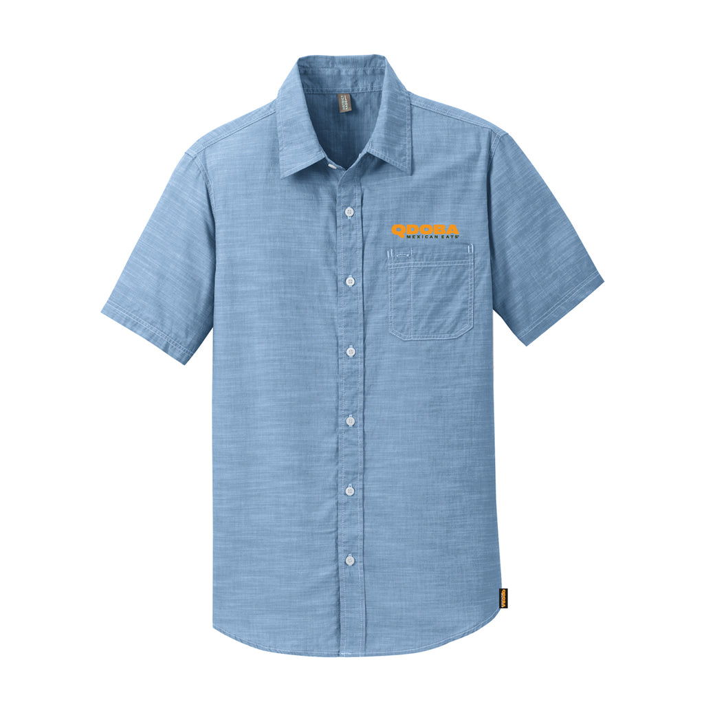 QDOBA CHAMBRAY SHIRT - MEN'S