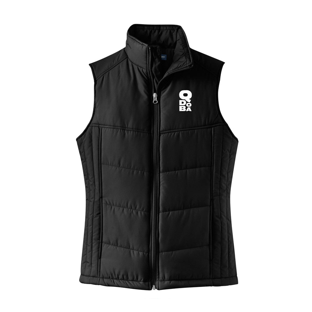 QDOBA PUFFY VEST - LADIES