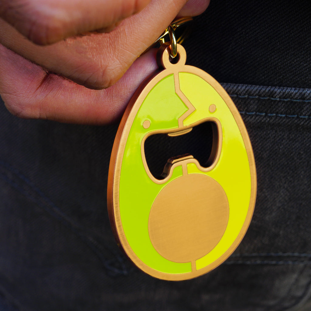 AVOCADO KEYCHAIN