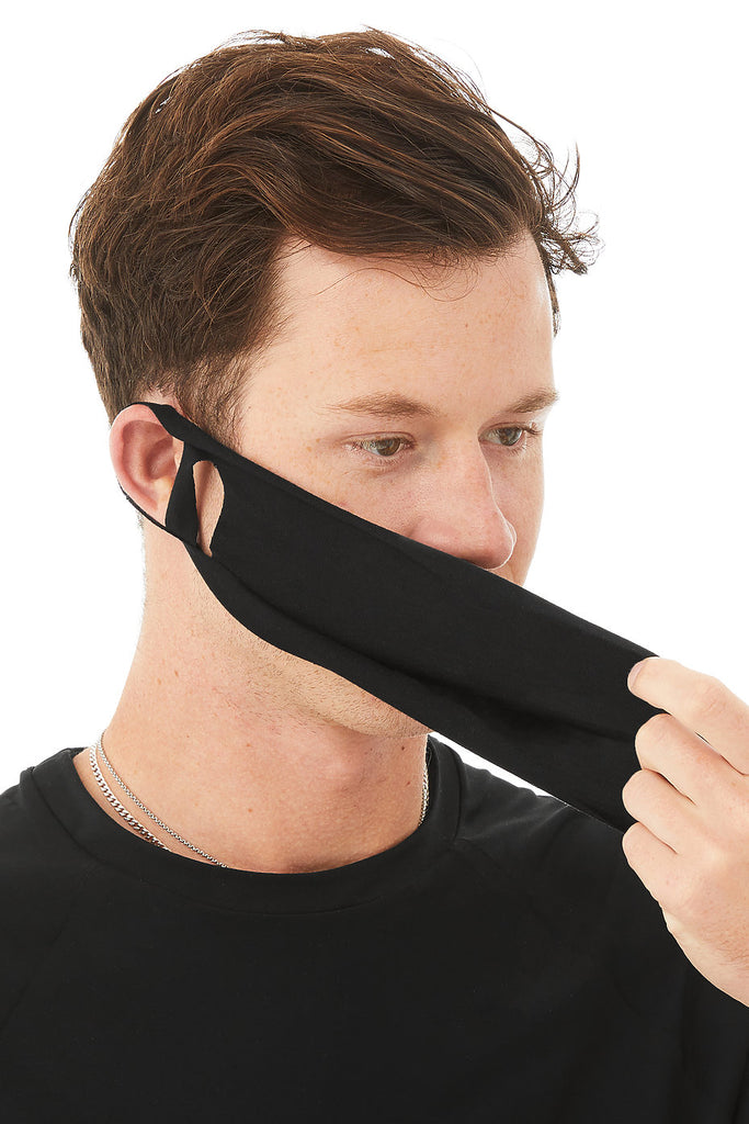 Face Cover (12 Pack) - Black
