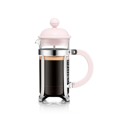 Bodum Caffettiera Coffee Maker, 3 Cup - Strawberry Pink - NEW Collection