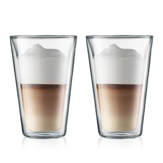 Bodum Canteen Large 0.4L Double Wall Glasses Set of 2