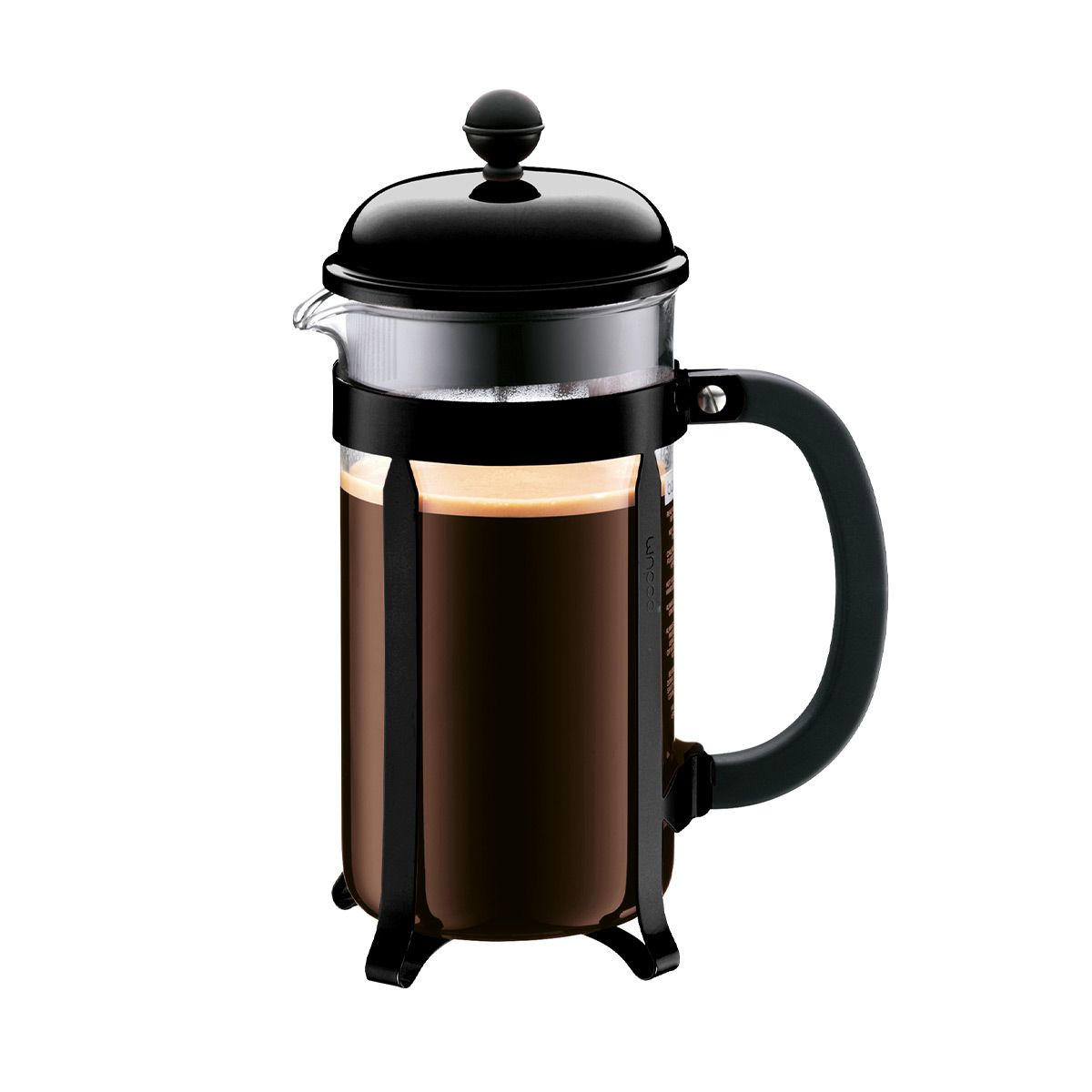 Bodum Chambord French Press Coffee Maker - 8 Cup Black