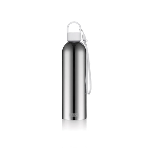 NEW Bodum Melior Stainless Steel Water Bottle 0.5L - Shadow Grey