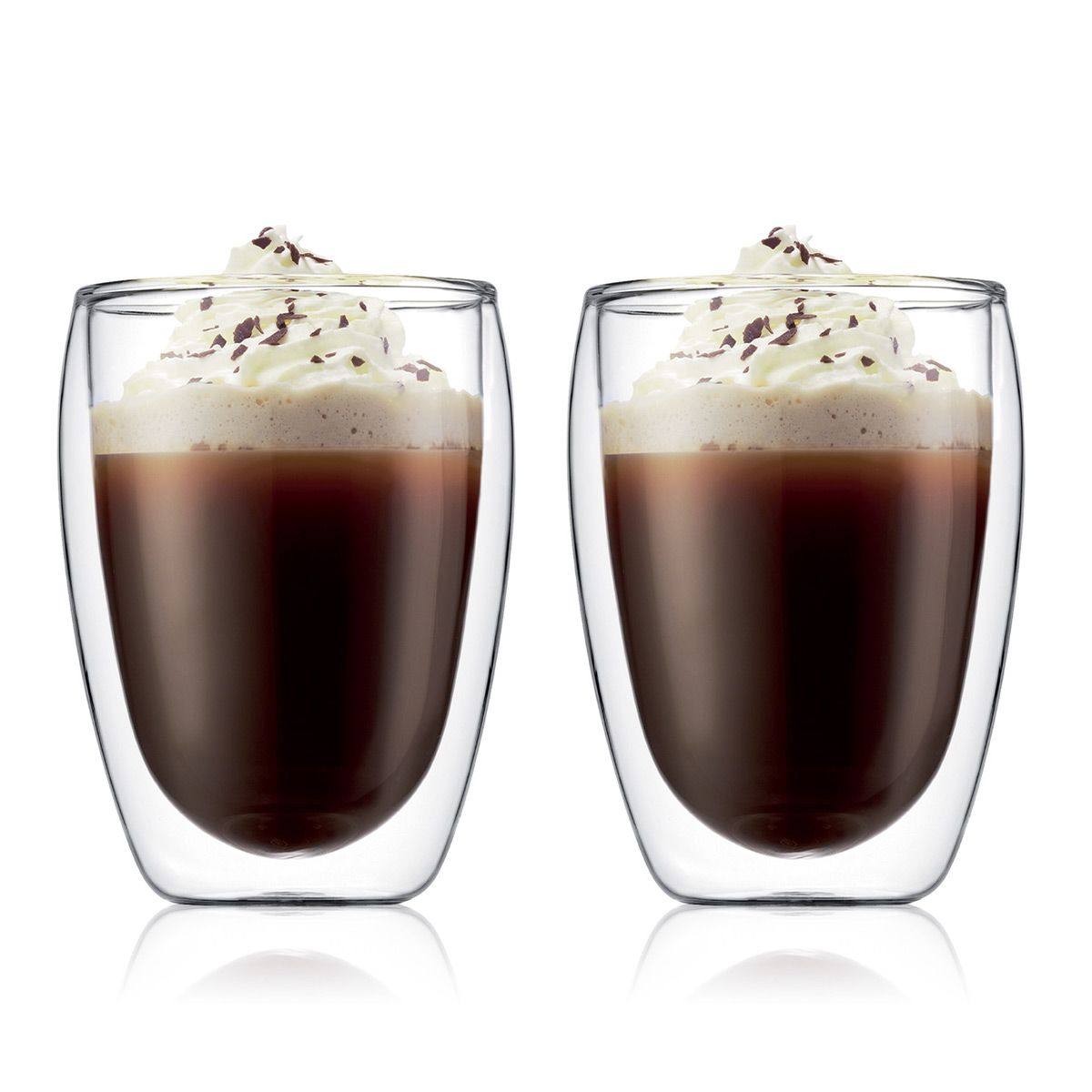 Bodum Pavina Medium 0.35L Double Wall Glasses Set of 2