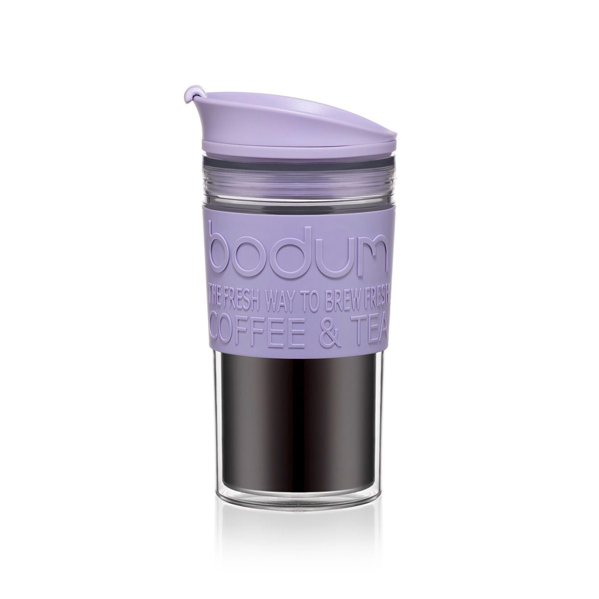 Bodum Travel Mug Acrylic 12oz - Verbena Purple - NEW 2020 Collection