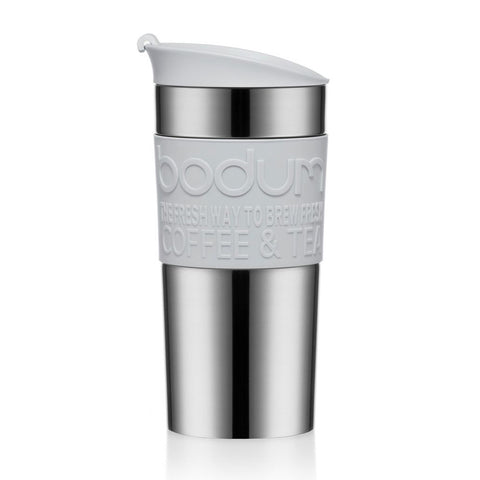 Bodum Travel Mug Stainless Steel 0.35L - Shadow Grey - NEW 2020 Collection