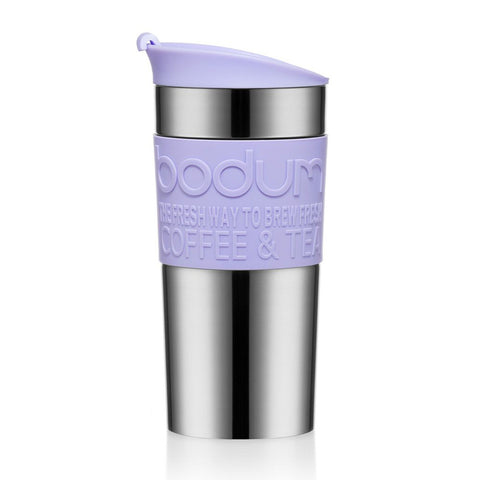 Bodum Travel Mug Stainless Steel 0.35L - Verbena Purple - NEW 2020 Collection