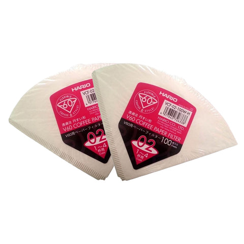 Hario V60 02 Filter Papers - Double Pack (200 Filter Papers)