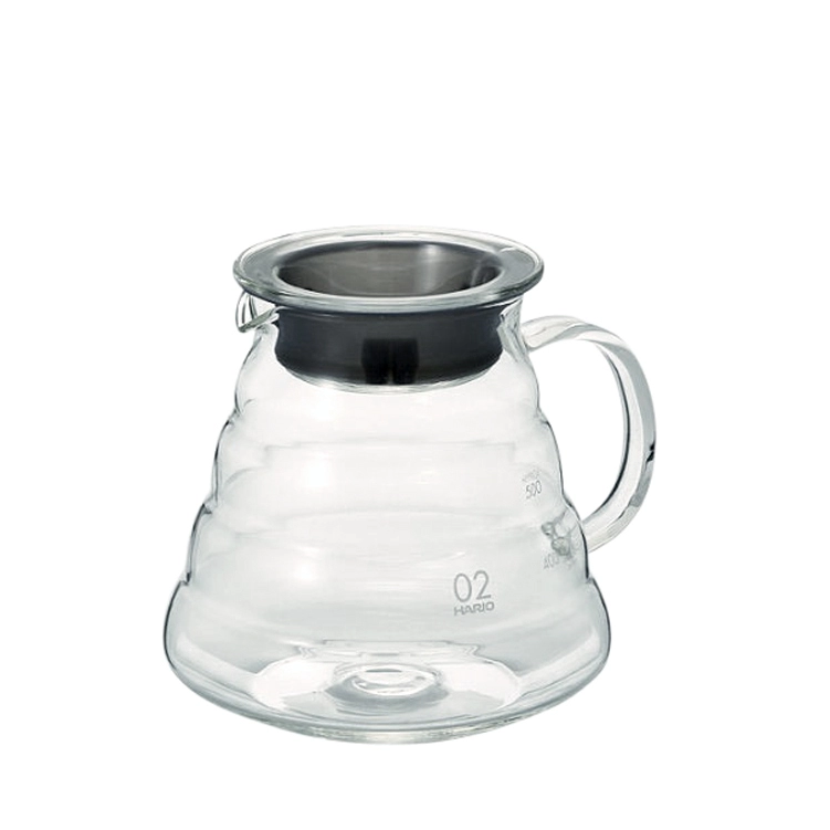 Hario V60 Clear Glass Range Server 600ml