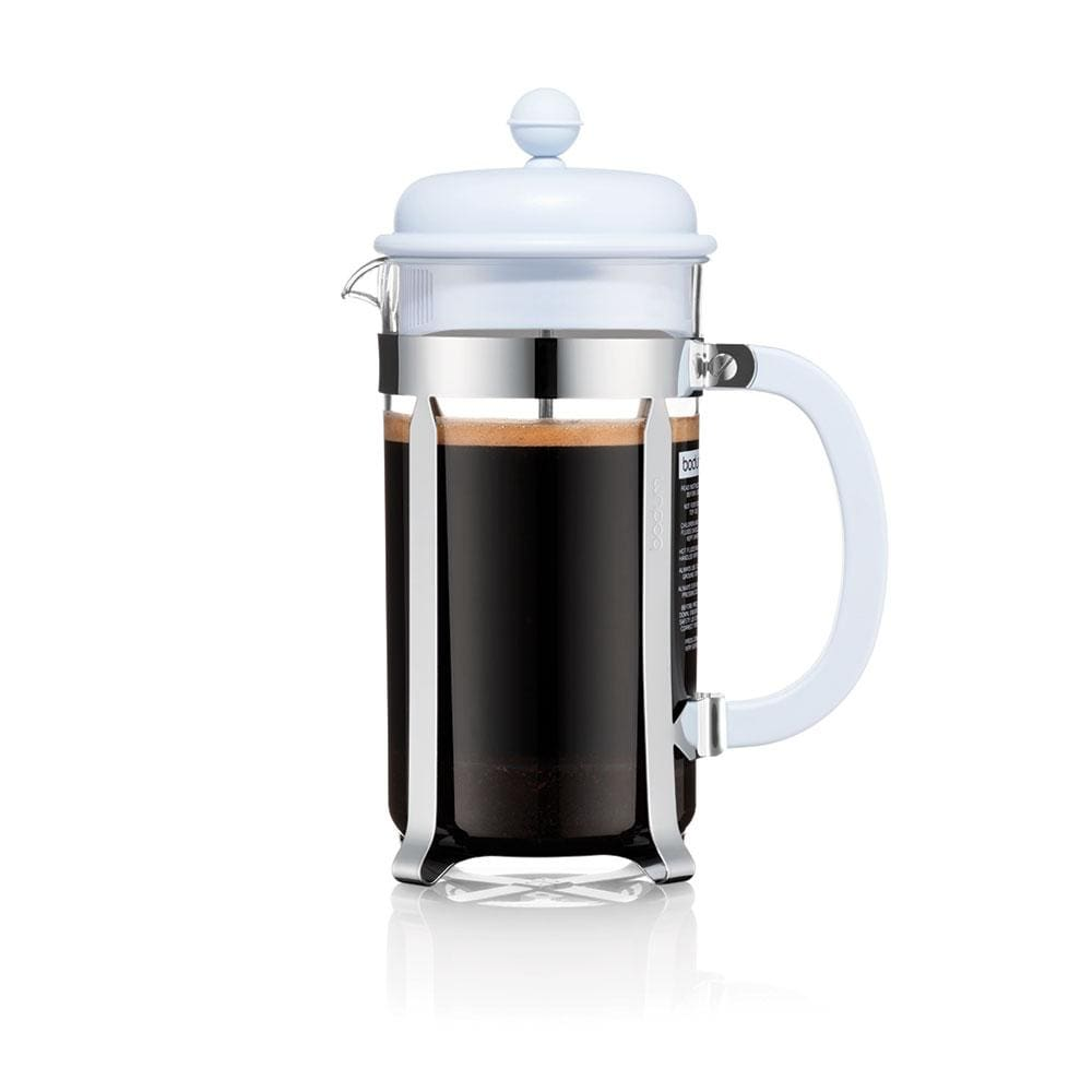 Bodum Caffettiera Coffee Maker, 8 Cup - Blue Moon - NEW Collection Coffee Making Equipment BeanBear