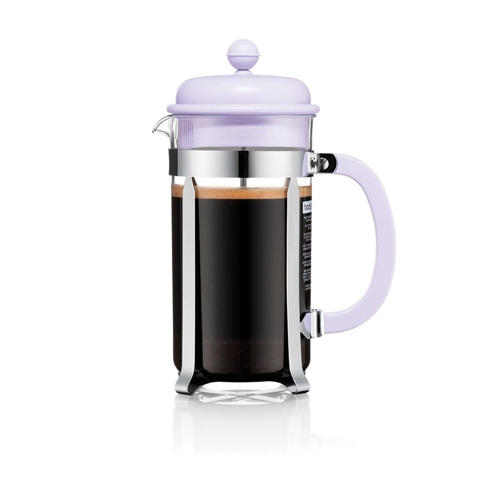 Bodum Caffettiera Coffee Maker, 8 Cup - Verbena Purple - NEW Collection Coffee Making Equipment BeanBear