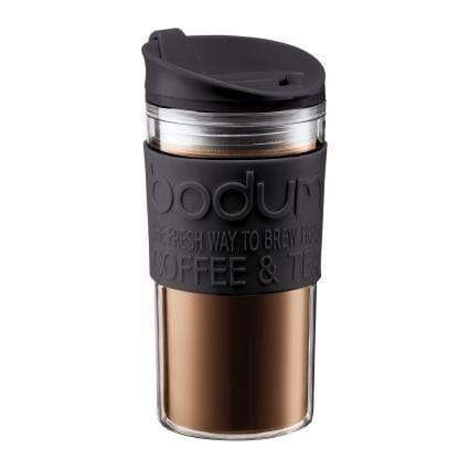 Bodum Travel Mug Acrylic 12oz - Black Coffee Making Equipment BeanBear