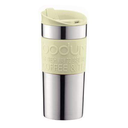 Bodum Travel Mug Stainless Steel Insulated 0.35L - Pistachio Coffee Making Equipment BeanBear