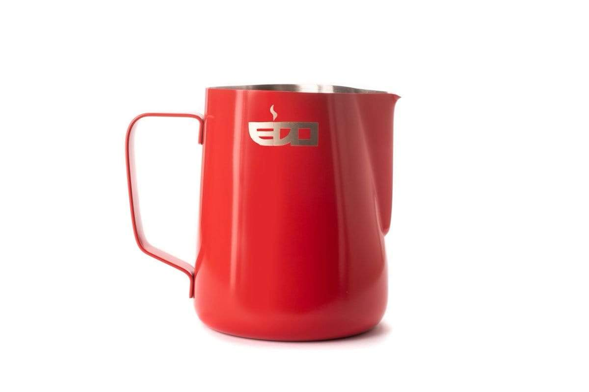 EDO Barista Professional Milk Pitcher 20oz / 600ml in Coral Red