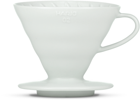 Hario V60 Ceramic Dripper Matte White