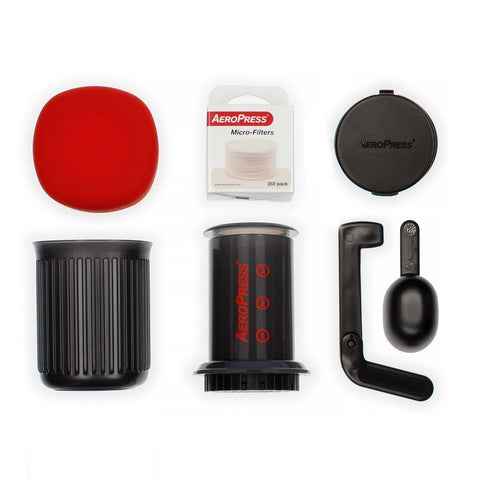 NEW AeroPress Go Coffee Maker UK - The Perfect Travel & Camping Accessory