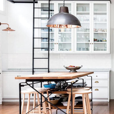 Annabelle Hickson and Fiona Bateman Kitchen Pendant Lights