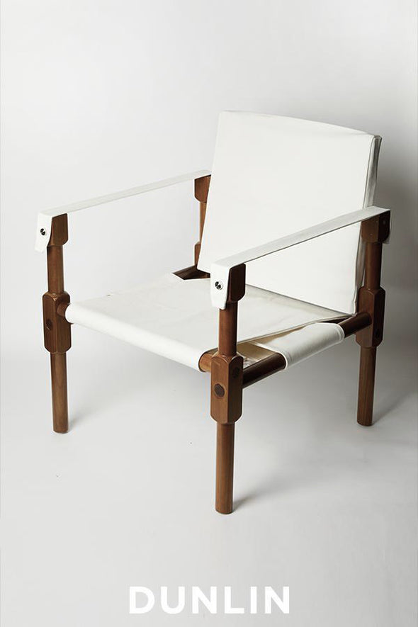 Dunlin Campaign Safari Chair Teak
