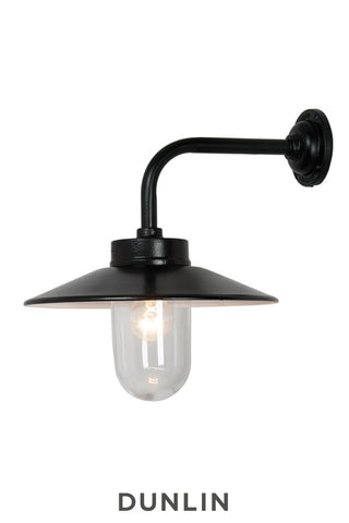 Chelsea Outdoor Wall Light Black