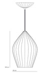 Fin Large Pendant by Original BTC - DUNLIN™ Home Australia - 4
