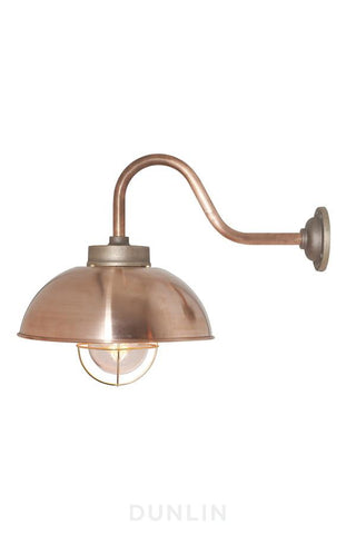 Shipyard Outdoor Wall Light Bronze