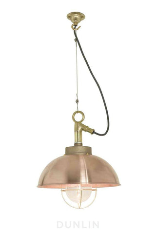 Shipyard Outdoor Pendant Light Bronze