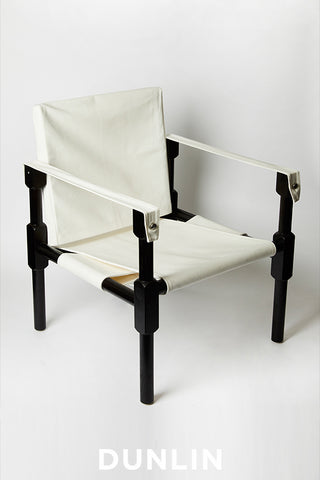 Dunlin Campaign Safari Chair American Oak
