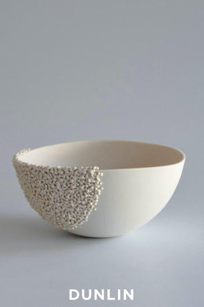 Lesley Doe Ceramics - Coalescence Bowl Small Pure