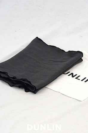 Dunlin French Linen Table Runner in Charcoal - DUNLIN™ Home Australia - 1