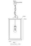 Crown Waterproof Outdoor Pendant - DUNLIN™ Home Australia - 2