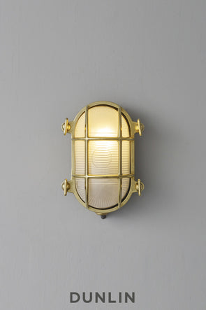 Atlantic Bulkhead Fitting Polished Brass