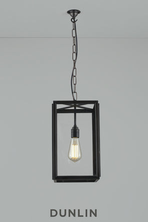 Crown Rectangular Pendant