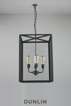 Crown Extra Large Rectangular Pendant