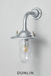 Chelsea Outdoor Small Wall Light Galvanised